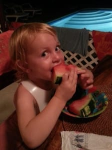 watermeloen smikkelen