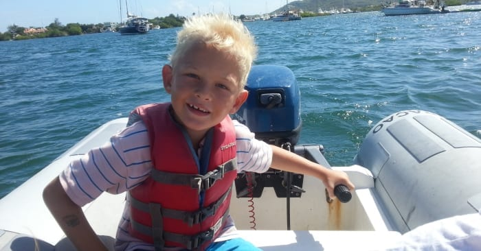 motorbootje Spaanse Water