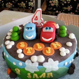 Cars-Taart Cakes And So