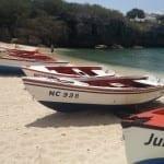 vissersboot Curacao Playa Lagun