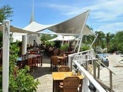 Heerlijk buiten eten bij Chogogo Resort Curacao!
