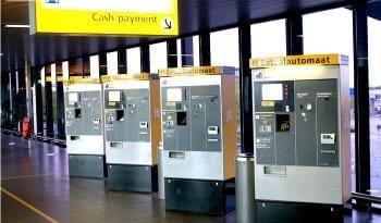 parkeren Schiphol betalen