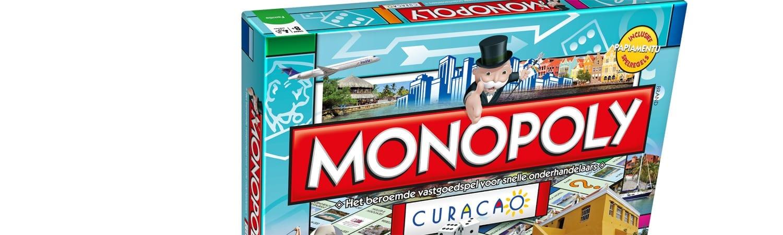 Monopoly Curacao - te leuk al die herkenbare Curacao locaties!