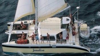 met de Jonalisa naar Klein Curaçao