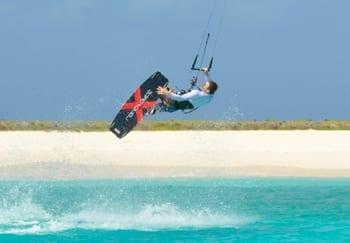 kitesurfen Klein Curacao