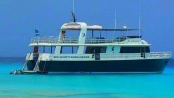 De Mermaid naar Klein Curaçao