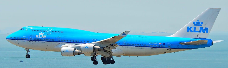 KLM Curacao Boeing 747-400