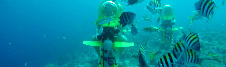 Aquafari Curacao onderwaterscooter