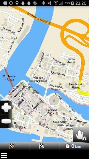offline navigatie Curacao Mapfactor Navigator