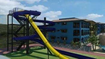 Kunuku Aqua Resort Curaçao - enige zwembad met glijbanen