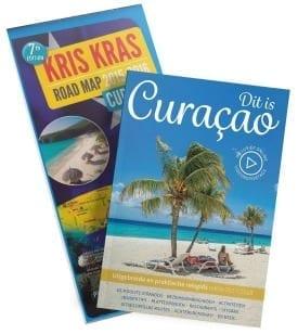 Dit is Curacao reisgids met wegenkaart