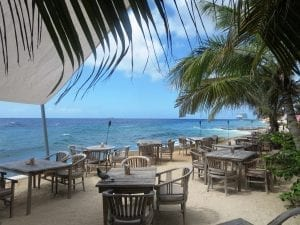scuba lodge restaurant