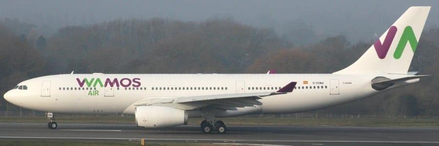 Geen TUI Dreamliner maar Wamos Air Airbus A330