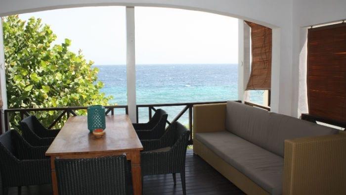 Scuba Lodge appartement met zicht op zee