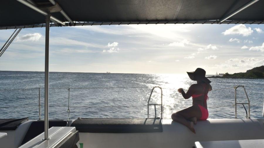 catamaran bluefinn curacao