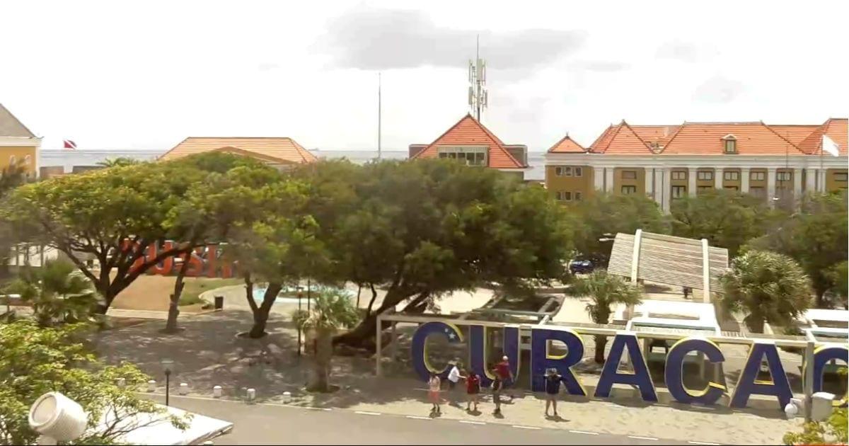 webcam op curacao geeft je een indruk van het weer