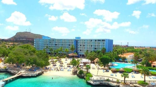 Hilton Curacao Resort, direct aan strand