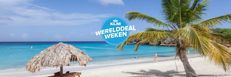 Curacao KLM Werelddeal Weken