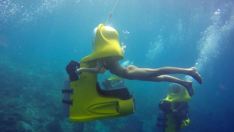 Aquafari Curaçao - onderwaterscooters