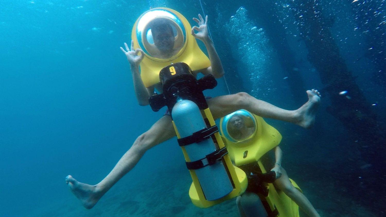 Aquafari Curaçao: onderwaterscooters