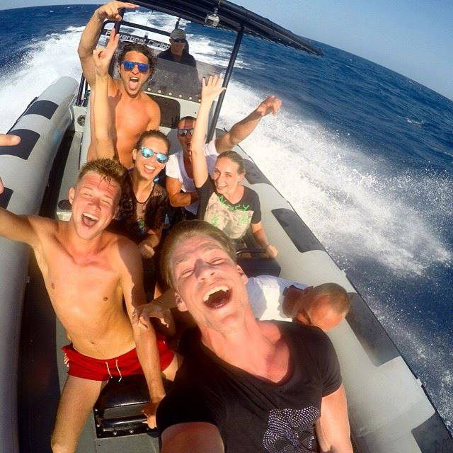 powerboat caribbean fun