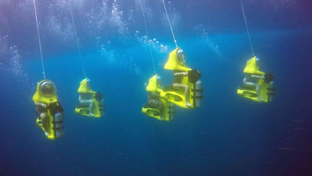 Aquafari Curacao Onderwaterscooter Duiken Zonder Cursusq