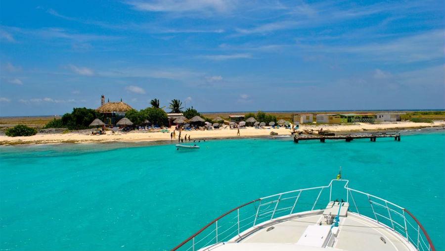 Klein Curacao boat house miss ann