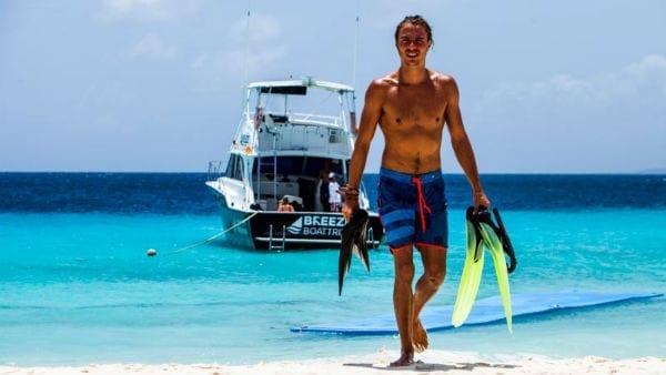 Breeze Klein Curaçao snorkelen