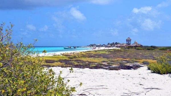 Breeze Klein Curaçao strand
