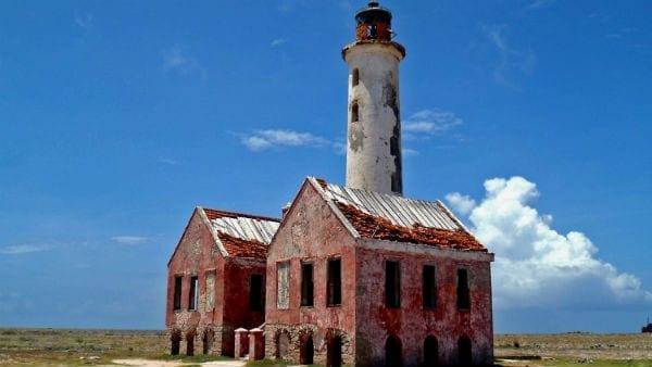 Klein Curaçao oude vuurtoren (oude dak)