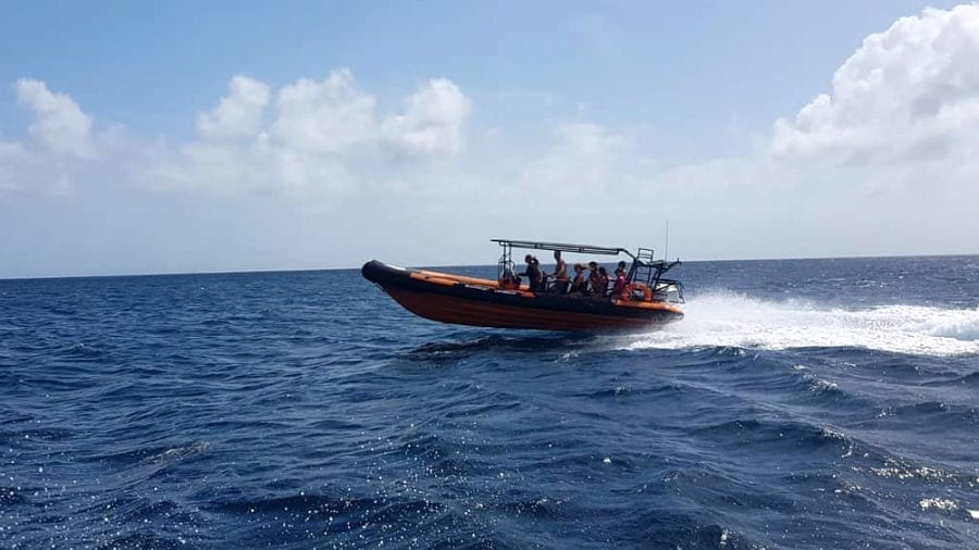 caribbean powerboat klein curacao