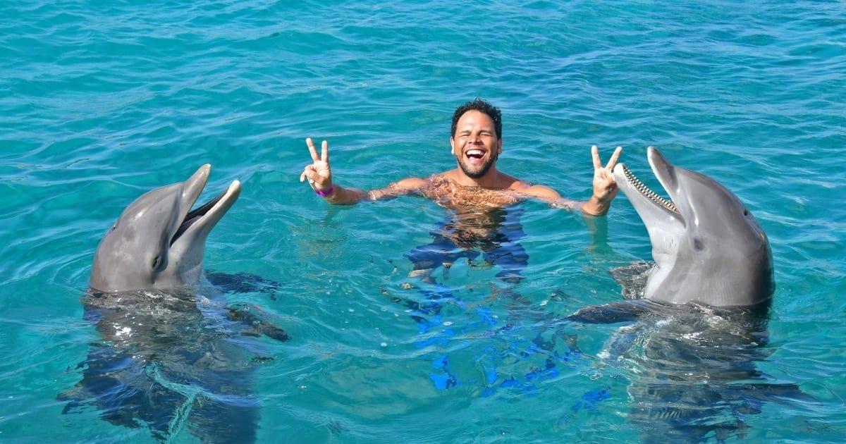 Dolphin Swim Curacao zwemmen met dolfijnen