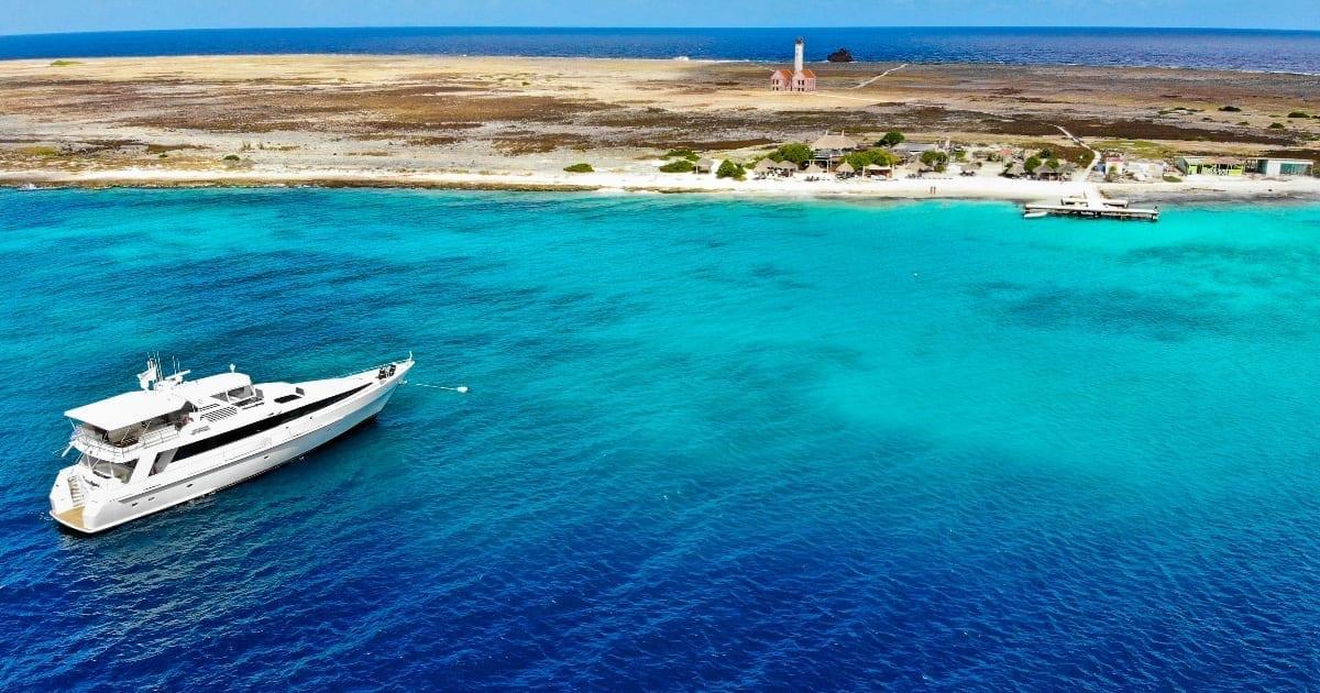 miss ann Klein Curaçao luxe jacht