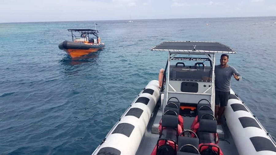 klein curacao powerboat