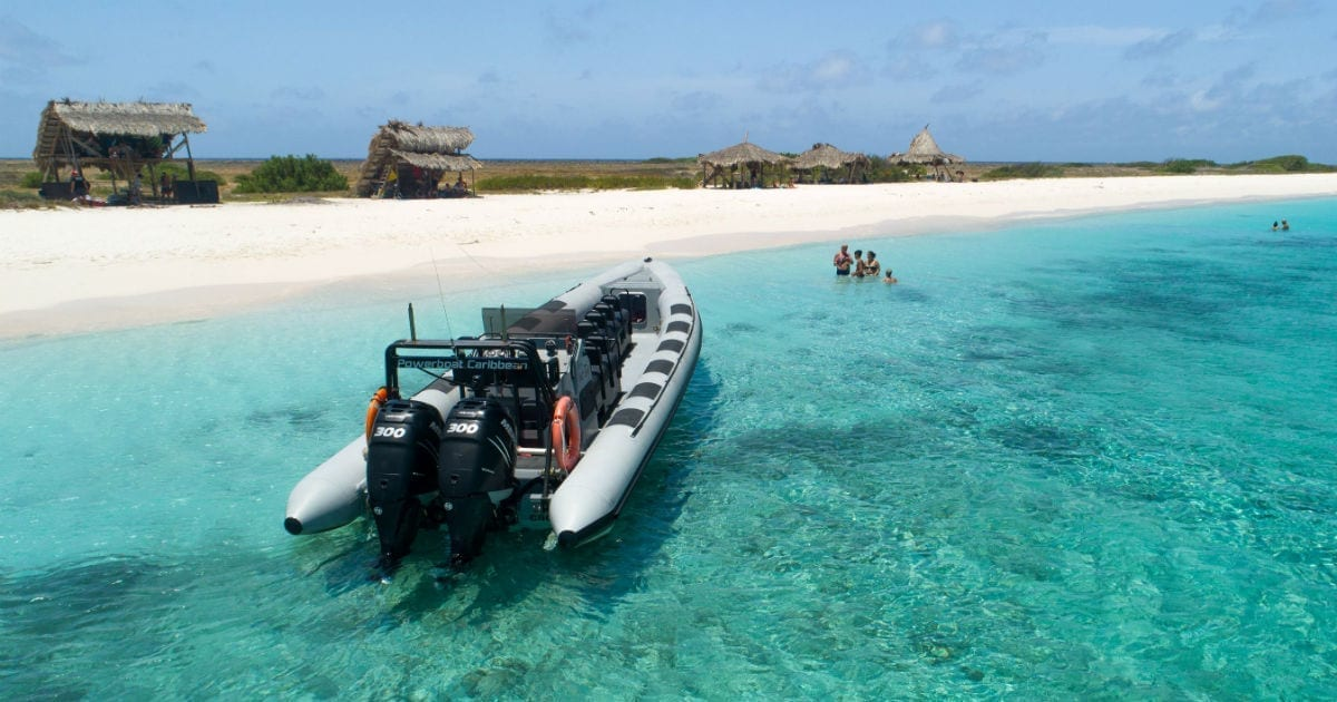 powerboat caribbean klein curacao