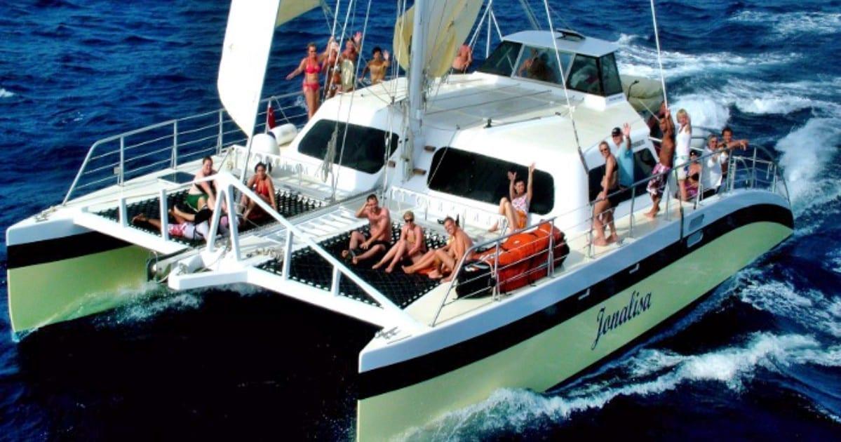 Klein Curaçao Jonalisa catamaran