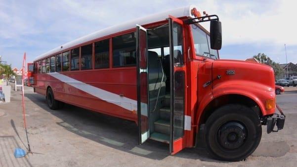 snorkelen curacao scuba bus