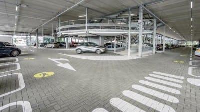 P3 Lang Parkeren Garage Schiphol