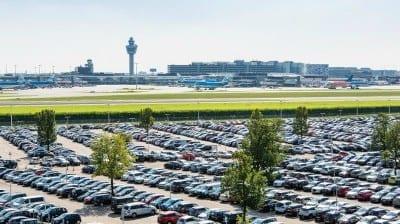 P3 Lang Parkeren Schiphol parkeerterrein