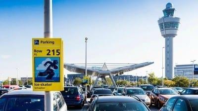 schiphol p1 holiday parking langer dan 48 uur