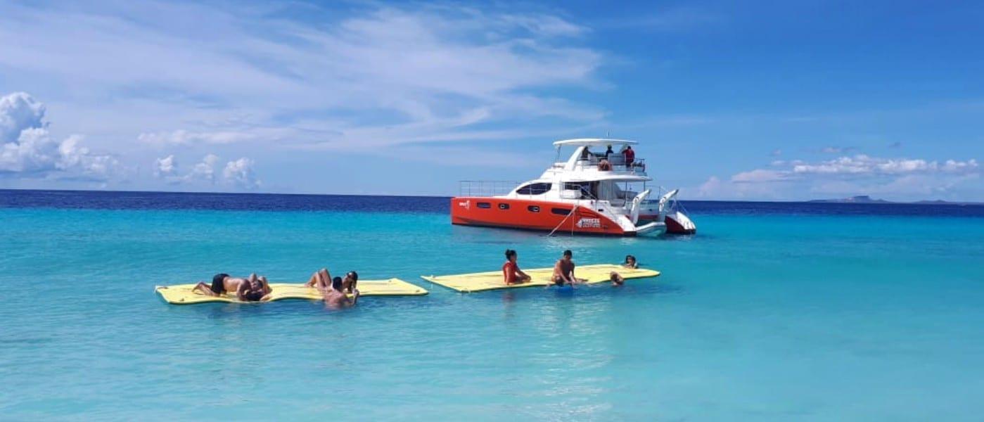 topcat catamaran klein curacao