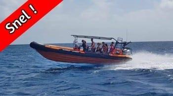 Klein Curaçao - snel en niet zeeziek