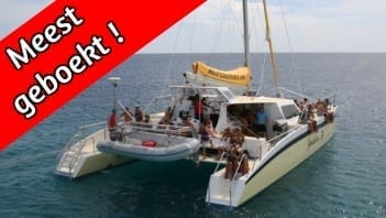 klein curacao meest geboekt catamaran