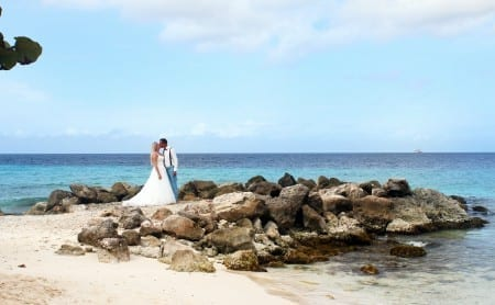wedding at beach curacao