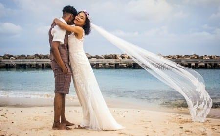 trouwen op Curaçao strand