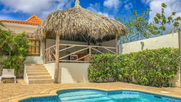 vakantiehuis curacao zwembad jan thiel