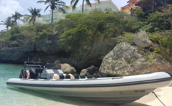 powerboat curacao westpunt tour lagun