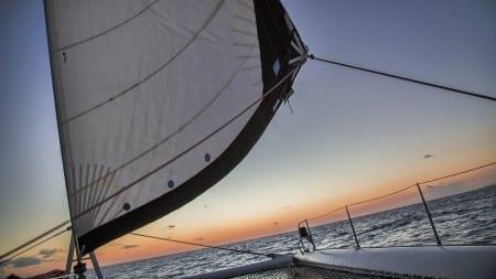 zeilen sunset sail curacao