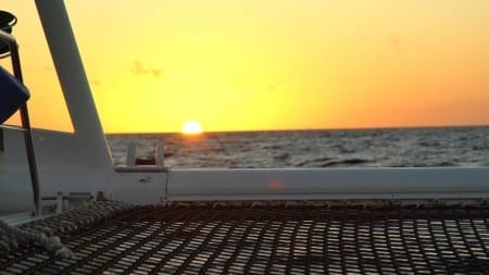 zonsondergang Sunset Sail Curaçao