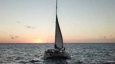 sunset sail curacao